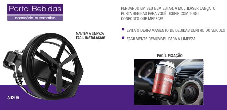 Porta bebidas automotivo multilaser au306 24 inform tica for Porta oculos automotivo